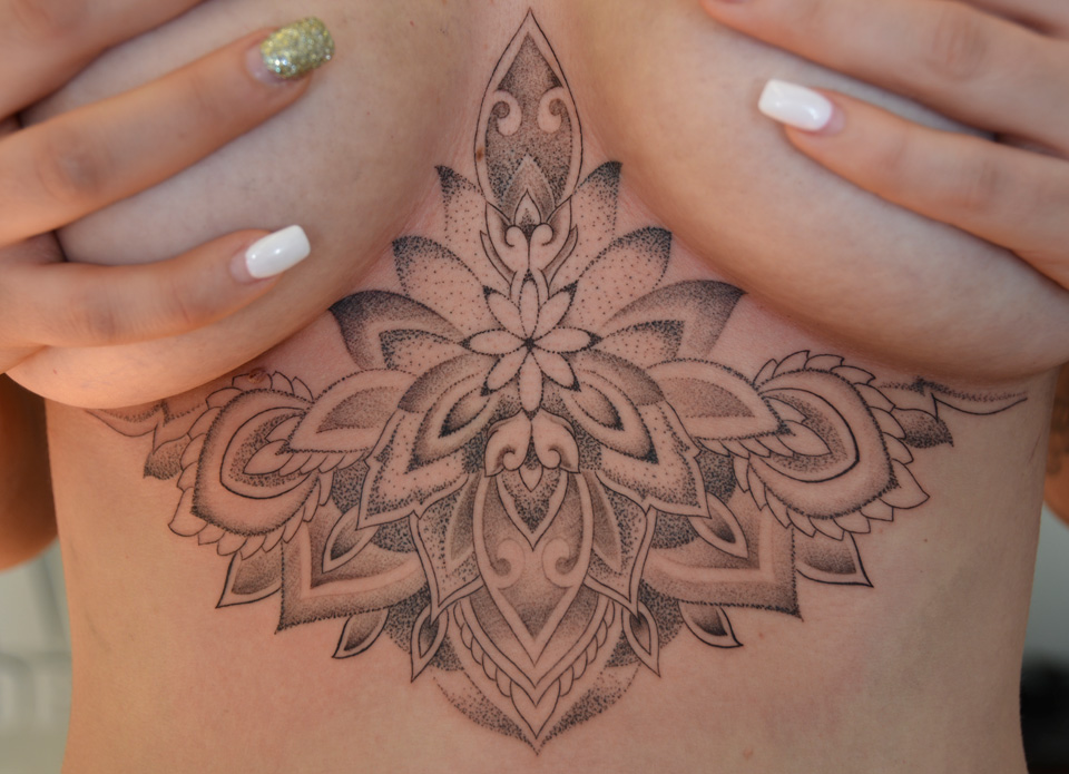 Overbreast Tattoo