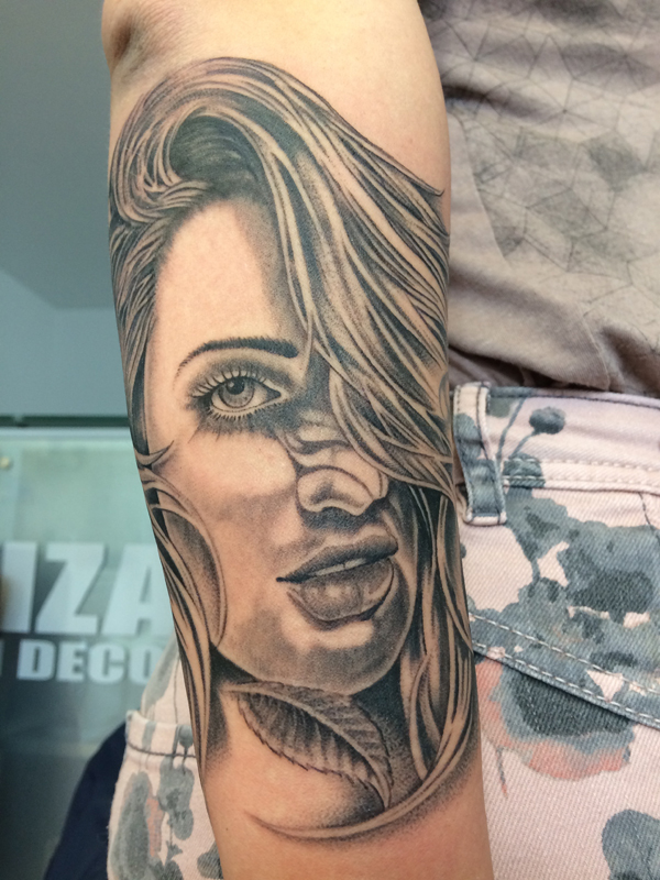 Silvano Braga Tattoo Gallery Chicano Portrait 001