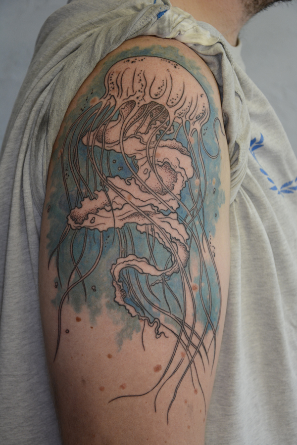 Silvano Braga Tattoo Gallery Aquarell 01