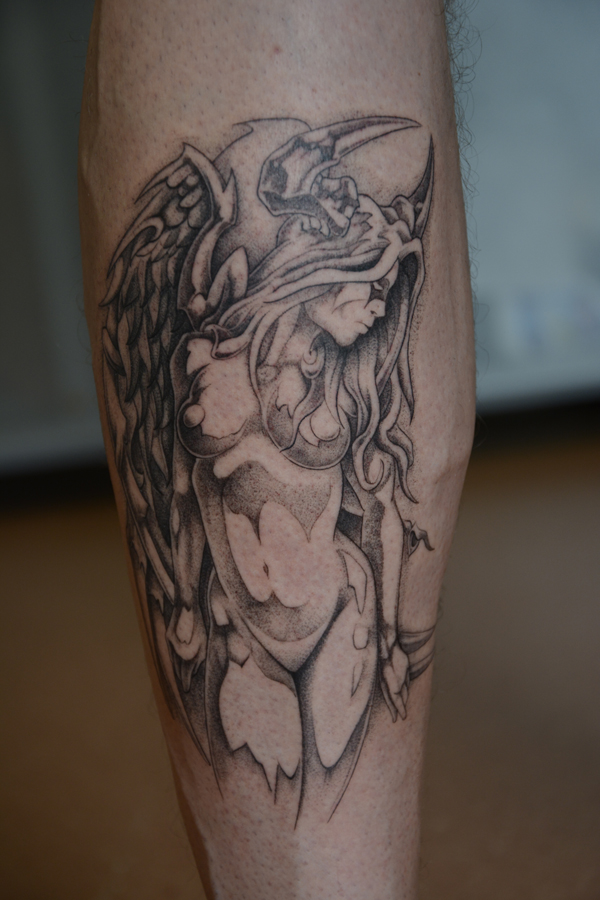 Silvano Braga Tattoo Gallery Demon Angel