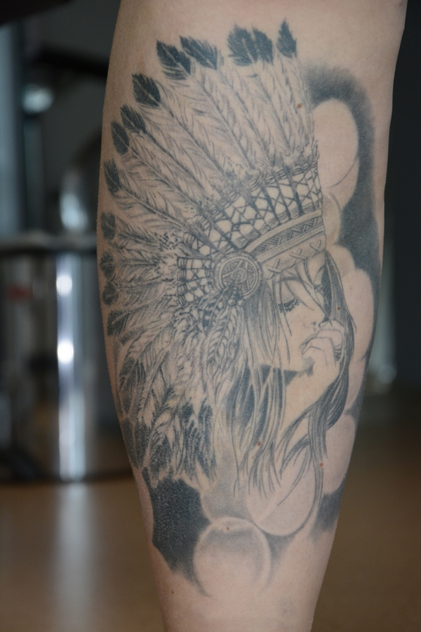 Silvano Braga Tattoo Gallery Native 00